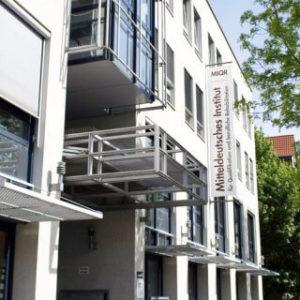 MIQR Erfurt - Gebäude (Front)