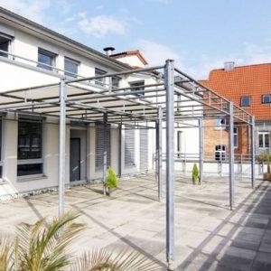 MIQR Erfurt - Gebäude (Terrasse)