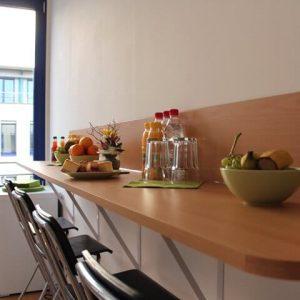 MIQR Dresden - Küche