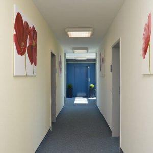 MIQR Suhl - Eingangsbereich
