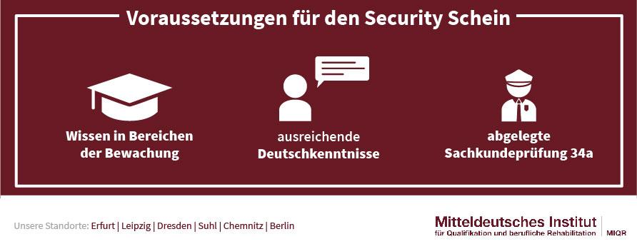 Voraussetzungen für den Security Schein